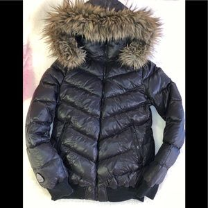 Soia and Kyo down filled reversible winter coat